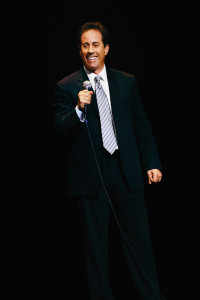 QC Alum and Comedian Jerry Seinfeld launched his 'Five Boroughs Tour' at Colden Auditorium on Oct. 18 in front of a packed house. Photo Courtney Teri LePlante