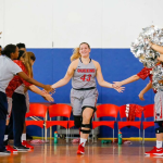 PHOTO COURTESY OF JOHN HIGGINS Senior Elisabeth Gully enters her final season with the women's basketball team.