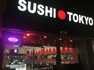 Photo by Jake Cohen For Queens College students interested in sushi, Sushi Tokyo is a convenient choice. It's located at 67-25 Main Street.
