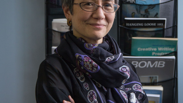 Photo by Jonathan Baron  English professor Kimiko Hahn is the new president of the Poetry Society of America. She is devoted to cultivating an interest in poetry in the nation.