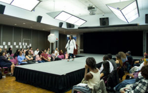 Photo by Jonathan Baron The Center for Ethnic, Racial and Religious Understanding's Social Identity Fashion Show took place on April 13 where models broke stereotypes and false assumptions through fashion.