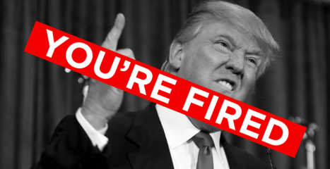 """A presidency of """"you're fired!"""" – The Knight News"""