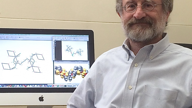 Caption: Dr. William Hersh, Professor for Organic Chemistry Photo Credit: qc.cuny.edu