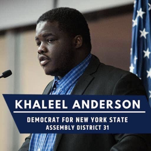 Queens College Alum Khaleel Anderson Making History In The Nyc District Assembly The Knight News